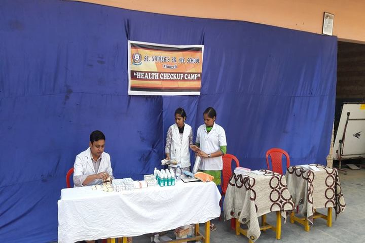 St  Xaviers Senior Secondary School-Medical Checkup