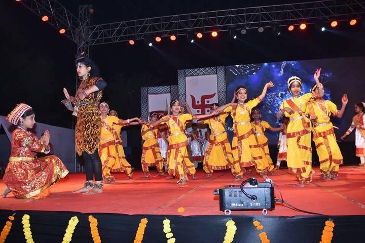 St Xaviers Senior Secondary School-Cultural Dance