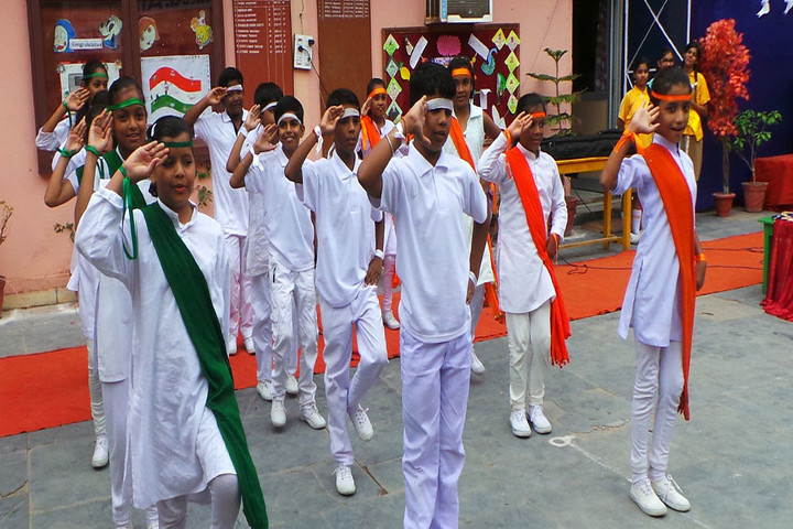 St Xaviers Senior Secondary School-Independence Day