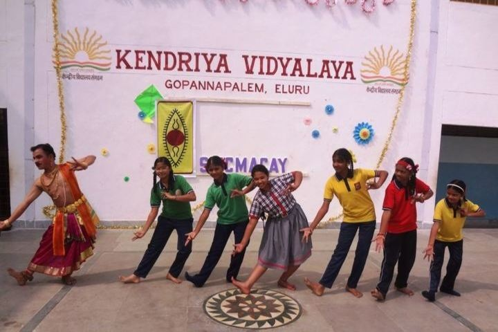 Kendriya Vidyalaya - Kuchipudi Dance