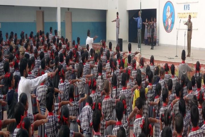 Kendriya Vidyalaya - Morning Assembly