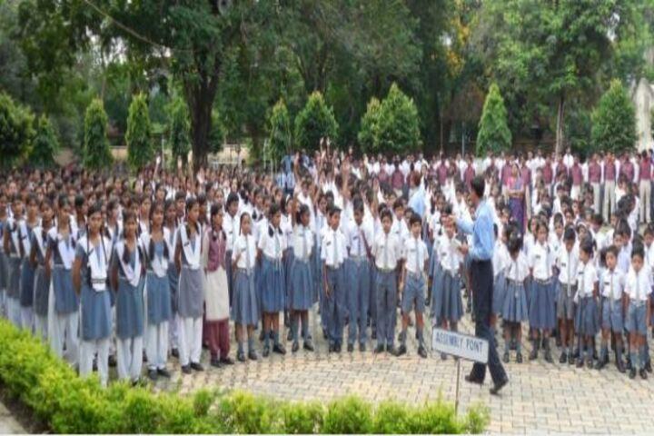 Tata Dav Public School-Morning Assembly