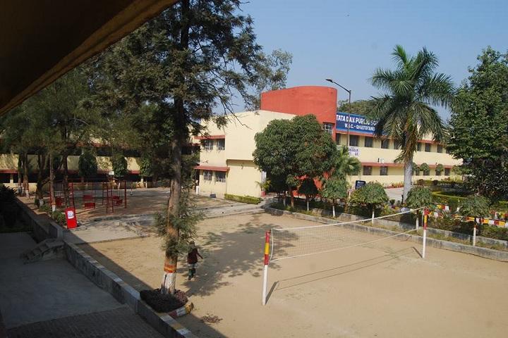 Tata Dav Public School-School View