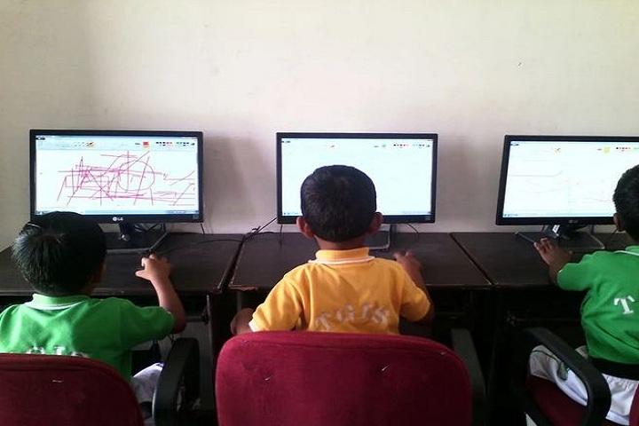 The Gurukul International School-Computer Class Room