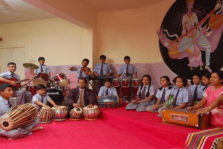 THE JAIN INTERNATIONAL SCHOOL-Music Room