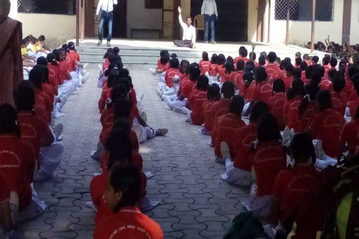 URSULINE ENGLISH MEDIUM SHOOL-Yoga