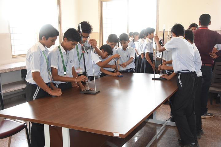 Vichakshan Jain Vidyapeeth-Chemistry Lab