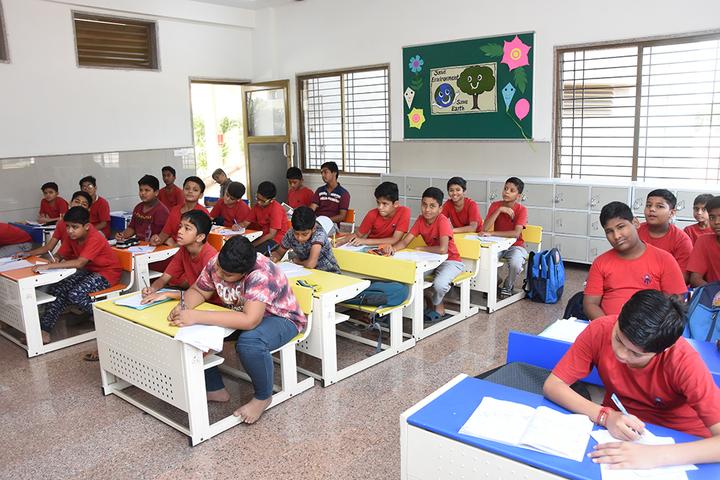 Vichakshan Jain Vidyapeeth-Classrooms