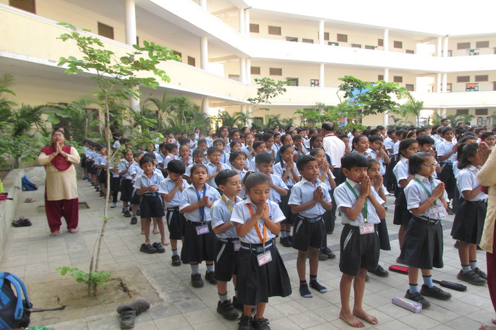 Vichakshan Jain Vidyapeeth-Morning Assembly