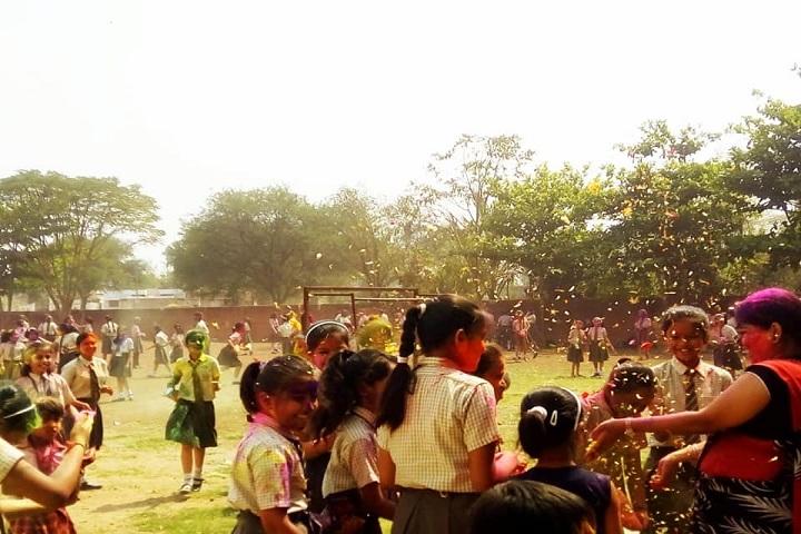 VIDHYA KUNJ SCHOOL-Holi Celebrations