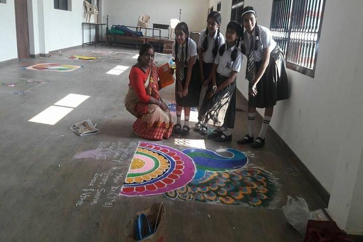 VIDHYA KUNJ SCHOOL-Rangoli
