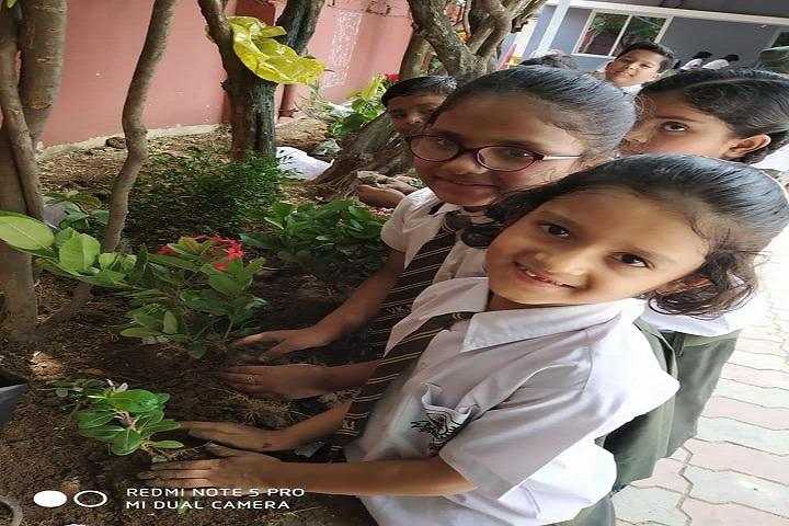 VIDHYA KUNJ SCHOOL-Tree Plantation