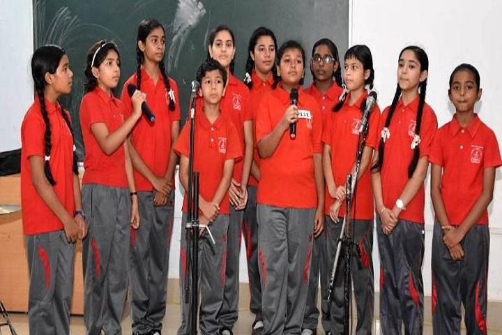 Vidya jyoti school-Singing
