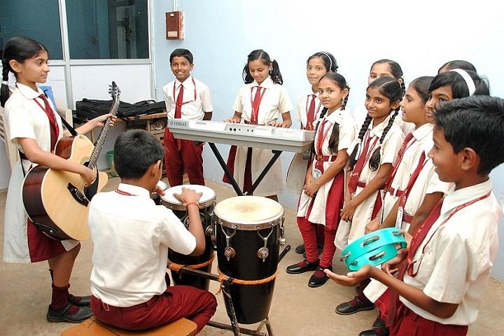 Weidner Memorial Senior Secondary School-Music Room