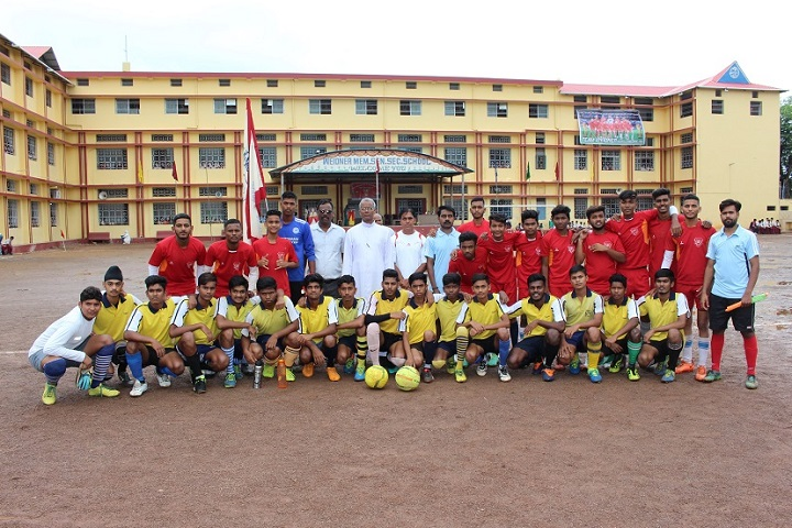 Weidner Memorial Senior Secondary School-Sports team group photo
