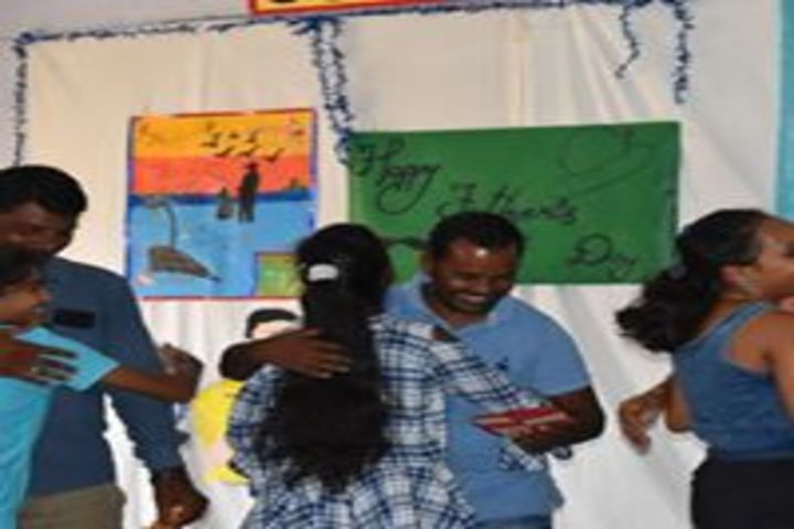 Our Lady Of Help English School-Fathers Day Celabrations