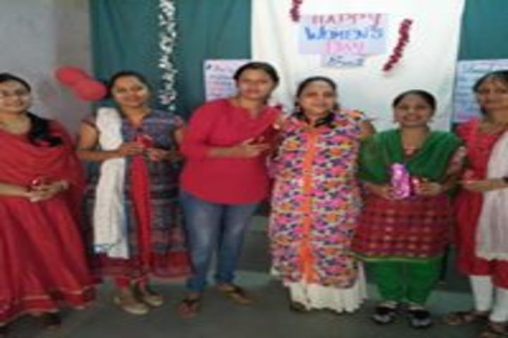 Our Lady Of Help English School-Womens Day Celabrations