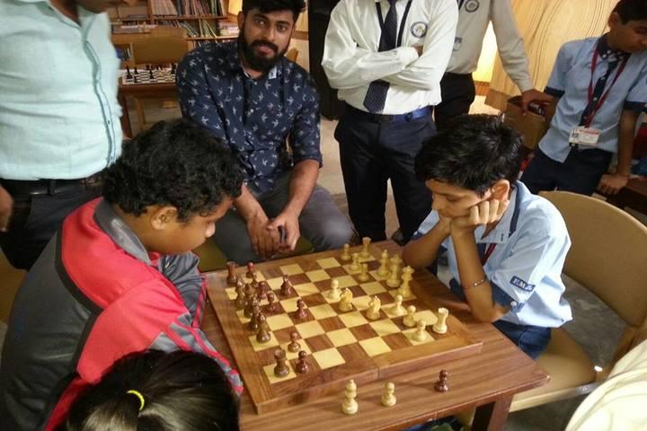 Shivprakash Memorial School-Chess Compitition