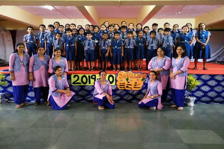St  Xaviers School-Spelling Compitition