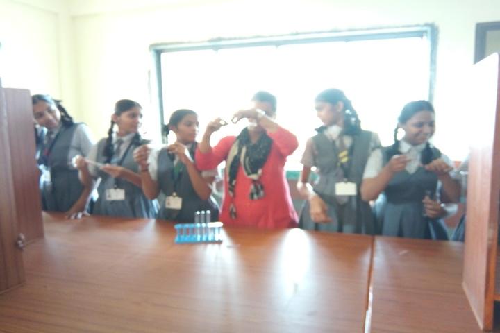 Fr  Agnelo School- Chemistry Lab
