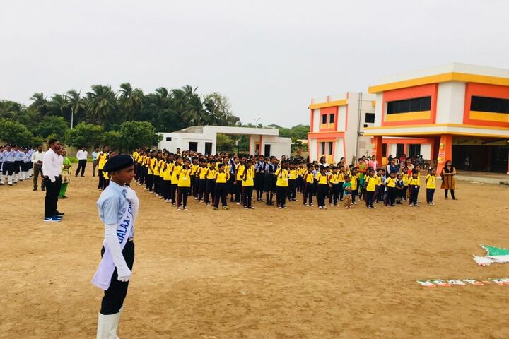 Galaxy English Medium School-Independance Day