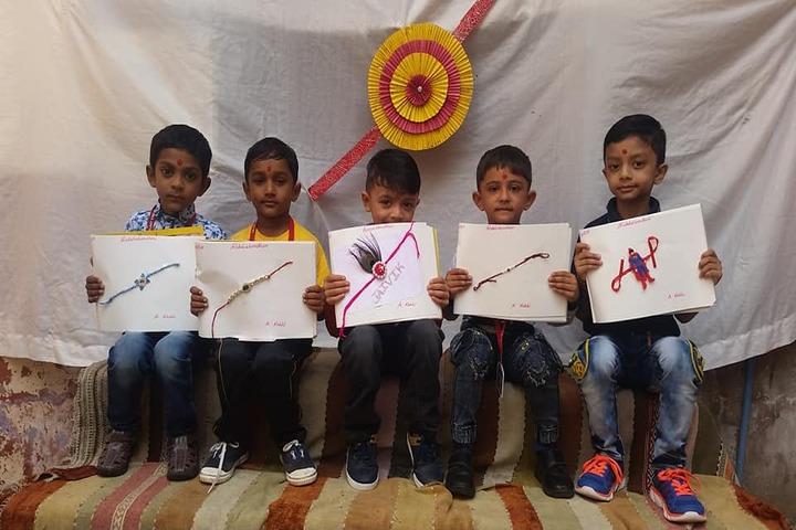 Galaxy English Medium School-Raksha Bandhan