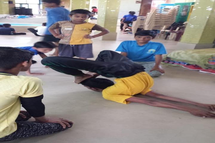 Galaxy English Medium School-Yoga