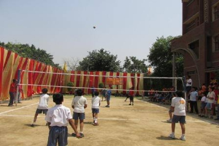 Aadharshila Vidyapeeth--Volley ball Tournament