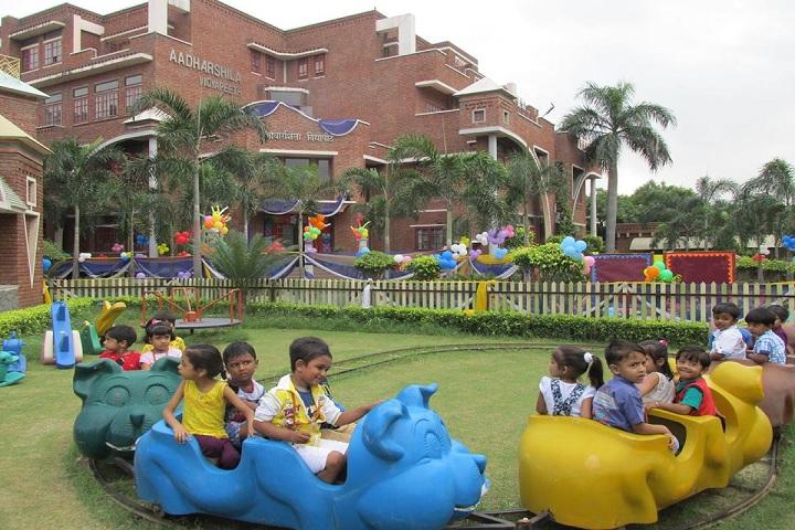 Aadharshila Vidyapeeth-Kids Play Area