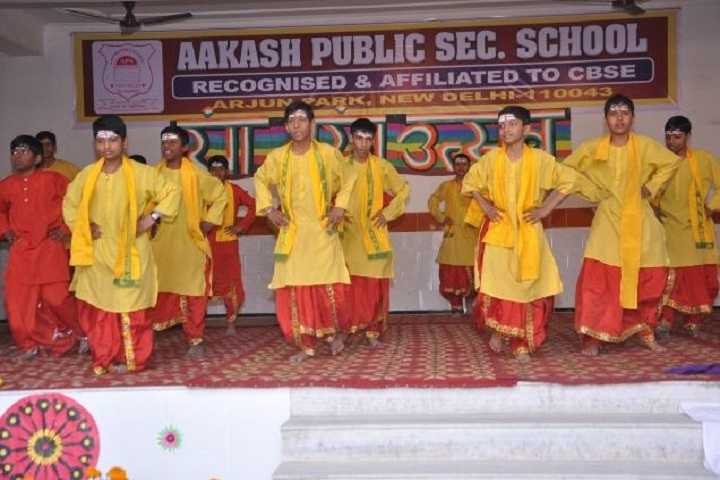 Aakash Public School-Farewell
