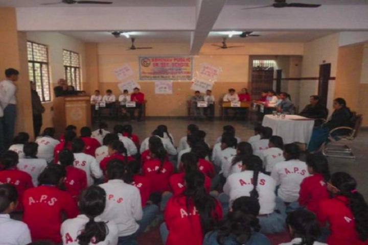 Abhinav Public School- debate