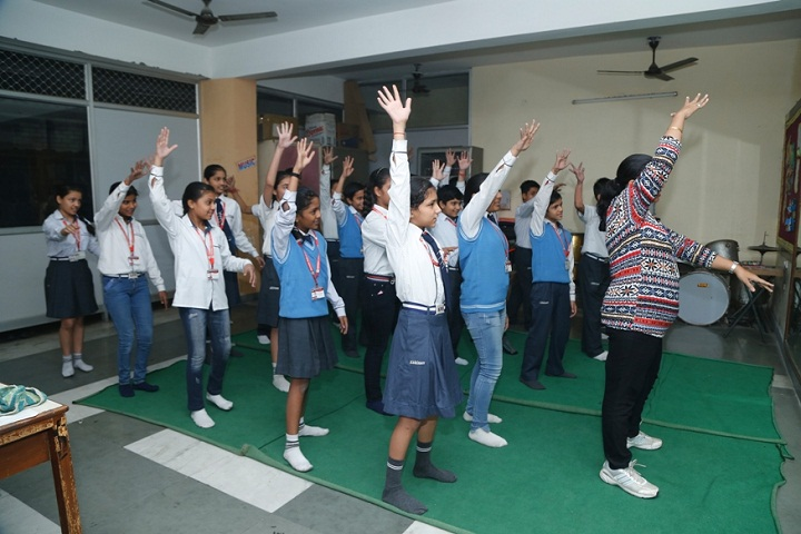 Abhinav Public School-Dance-Room