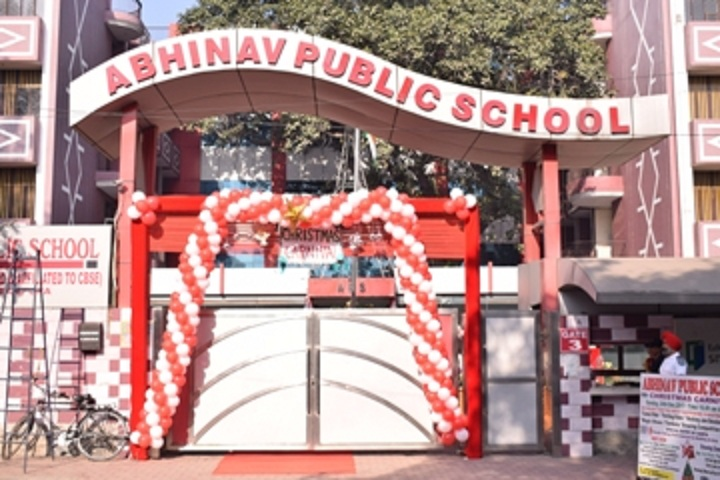 Abhinav Public School-School View