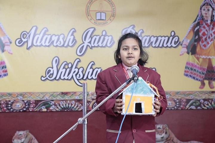 Adarsh Jain Dharmic Shiksha Sadan-Singing