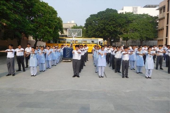 Adarsh Public School-Assembly