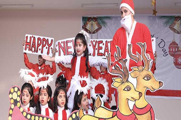 Adarsh Public School-Christmas Celebration