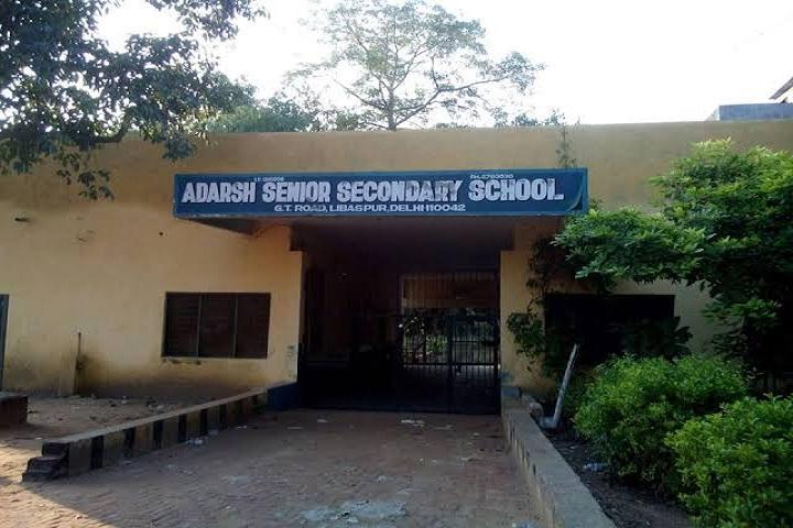 Adarsh Senior Secondary School-Campus