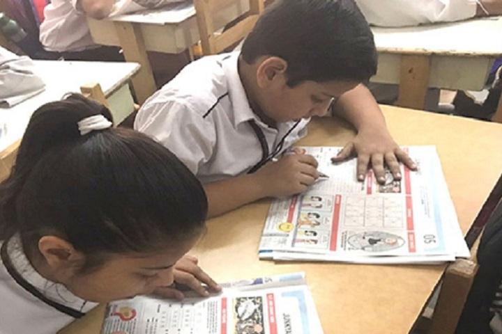 Adriel High School-Reading Activity