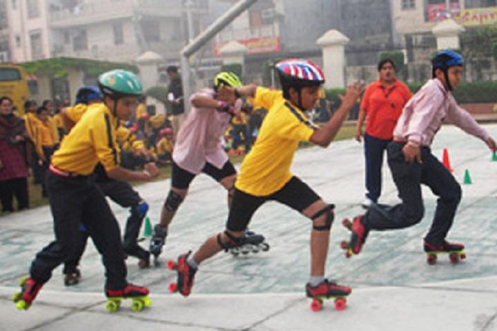 Adriel High School-Skating