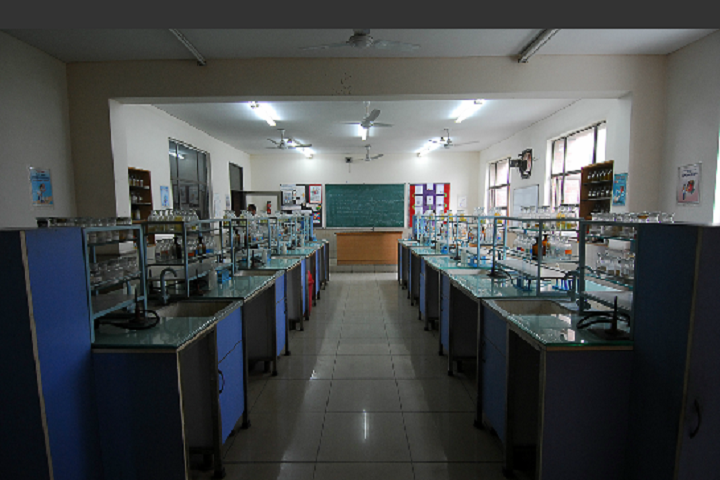 Ahlcon International School-Chemistry-Lab