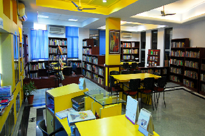 Ahlcon International School-Library