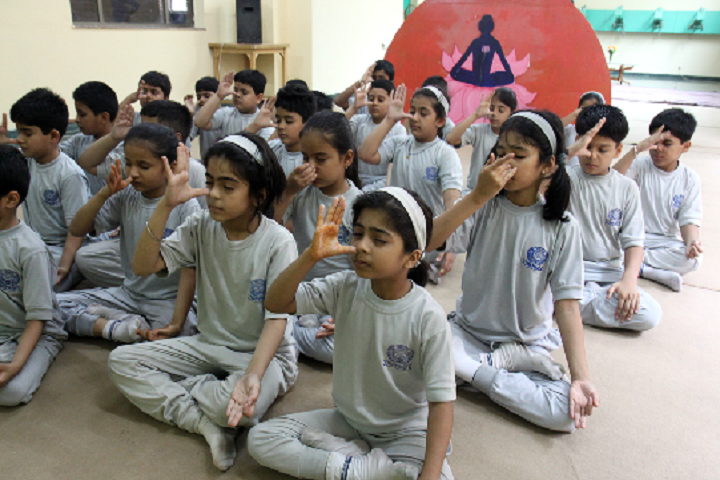 Ahlcon International School-School-Yoga