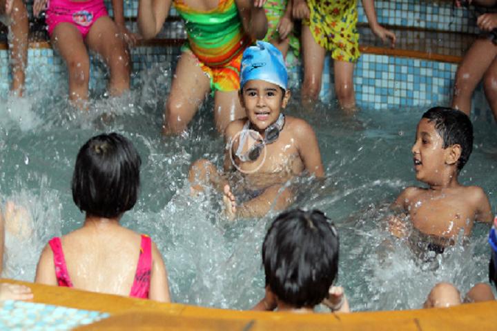 Ahlcon International School-Swimming-Pool