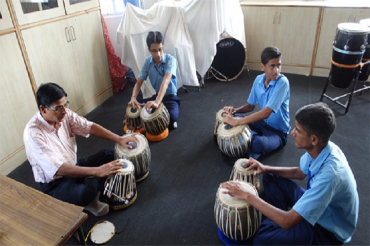 Air Force Golden Jubilee Institute- Music room