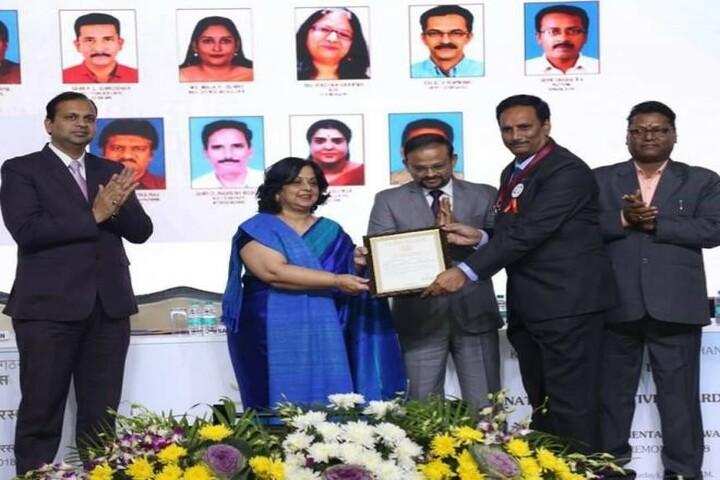 Kendriya Vidyalaya - Award Receiving