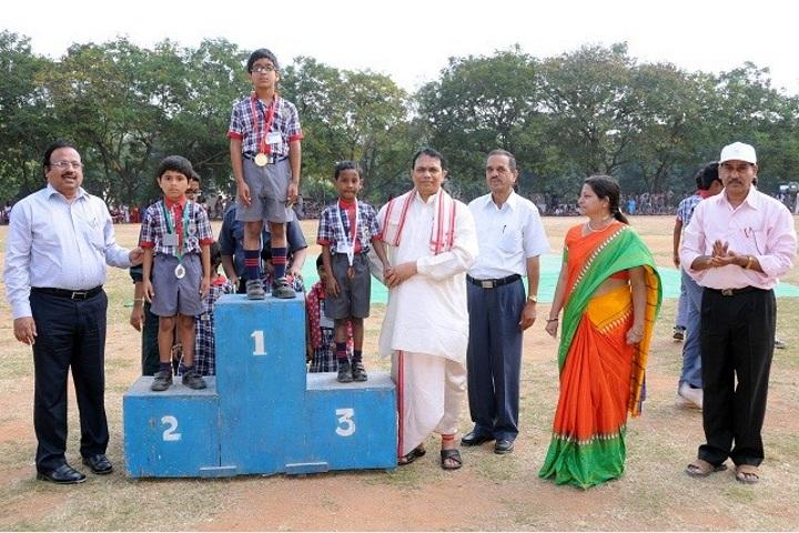 Kendriya Vidyalaya -Award Receiving