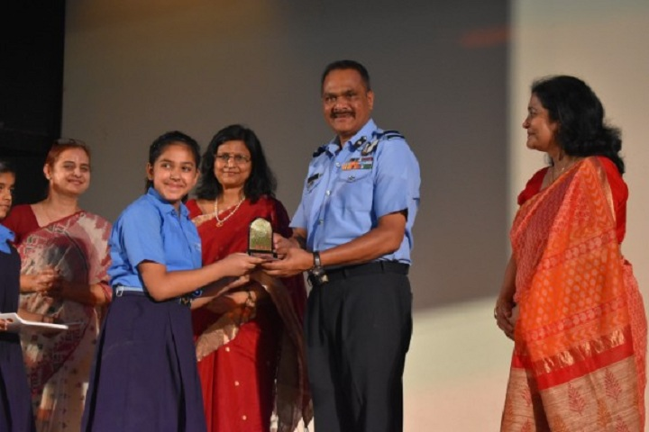 Air Force Bal Bharati School-Junior School Batchceremony