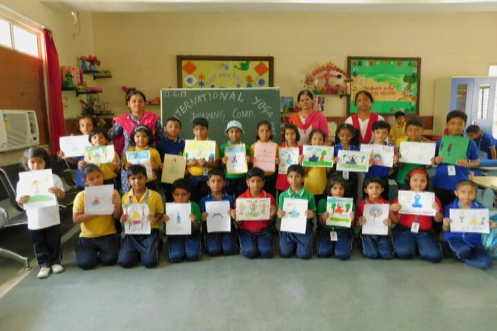 Air Force School-Drawing Competition
