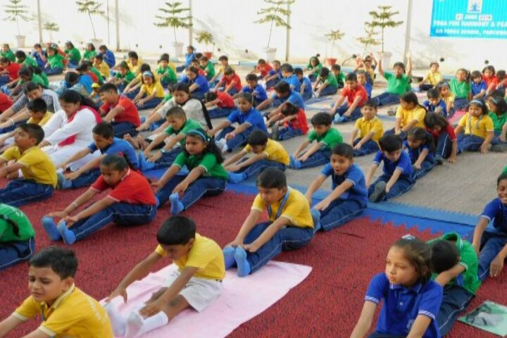 Air Force School-Yoga Activity