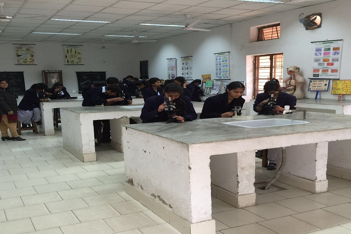 Air Force Sr Sec School-Biology Room